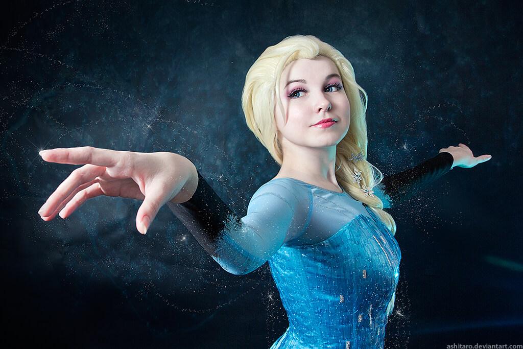 ما هو الكوسبلاي  Frozen_elsa_cosplay_by_kikolondon-d88bmd9